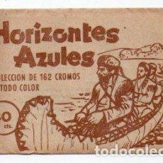 Coleccionismo Cromos antiguos: SOBRE DE CROMOS HORIZONTES AZULES. Lote 293349988