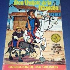 Coleccionismo Cromos antiguos: CROMOS SUELTOS BRUGUERA - SERIE DE DIBUJOS ANIMADOS DON QUIJOTE DE LA MANCHA (1979) - COMPLÉTALA. Lote 91845785
