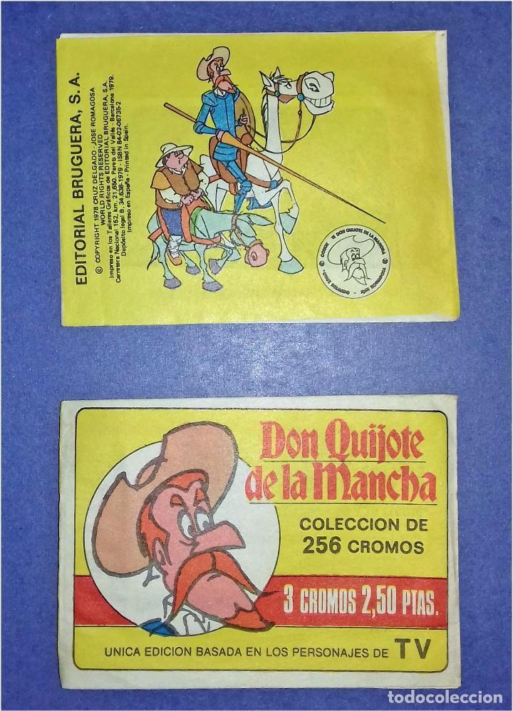 Coleccionismo Cromos antiguos: CROMOS SUELTOS BRUGUERA - SERIE DE DIBUJOS ANIMADOS DON QUIJOTE DE LA MANCHA (1979) - COMPLÉTALA - Foto 2 - 91845785