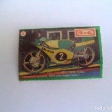 Coleccionismo Cromos antiguos: CROMO PANRICO MOTOS Nº 35. Lote 92276155