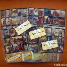 Coleccionismo Cromos antiguos: CROMOS CULTURALES-26 SERIES COMPLETAS DE 10 CROMOS CADA UNA CON SUS ESTUCHES-EXPLICACIÓN EN INTERIOR. Lote 92701210