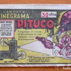 Coleccionismo Cromos antiguos: LOS CRIMENES DEL FANTASMA - BAGUÑA HERMANOS 1946 - CINEGRAMA PITUCO, SOBRE DE CROMOS VACIO. Lote 93907390
