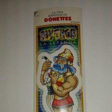 Coleccionismo Cromos antiguos: CROMOS TIRA ADHESIVA DE DONETTES DONETES MYTHOS LA LEYENDA ULISES. Lote 93954935