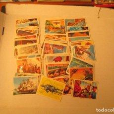Coleccionismo Cromos antiguos: LOS CORSARIOS CHOCOLATES PEREZ MUY DIFICILES. Lote 94207515
