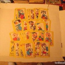 Coleccionismo Cromos antiguos: NAIPES COMICOS LOTE + REGALO. Lote 94208565