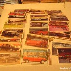 Coleccionismo Cromos antiguos: SUPER AUTO MILANO LOTE TAMBIEN SUELTOS. Lote 94208600