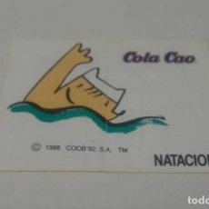 Coleccionismo Cromos antiguos: COBI COLA CAO CROMOS PEGATINAS OLIMPIADAS 1992 BARCELONA 92 BCN 92 COOB JUEGOS OLÍMPICOS. Lote 95748031