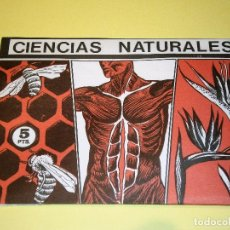 Coleccionismo Cromos antiguos: CIENCIAS NATURALES 1 - SOBRE DE CROMOS ED. EASO CROMOS - NUEVO SIN ABRIR - AÑO 1982. Lote 95932279