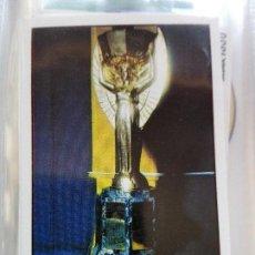 Coleccionismo Cromos antiguos: Nº 1 RIMET CUP **WORLD CUP STORY** PANINI (NUEVO NUNCA PEGADO). Lote 96695455