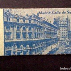 Coleccionismo Cromos antiguos: TICKET DE PESO BASCULA,MADRID-CALLE SEVILLA,REVERSO ALMACENES ESPAÑA,VALENCIA. (DESCRIPCIÓN). Lote 96862947