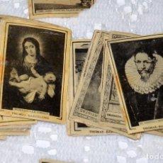 Coleccionismo Cromos antiguos: GRAN LOTE DE 195 CROMOS ANTIGUOS (THOMAS BARCELONA,LOS GRANDES ARTISTAS, ESPAÑA MONUMENTAL). Lote 96949467