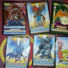 Coleccionismo Cromos antiguos: LOTE 6 CARDS DIGIMON BOLLYCAO. Lote 96992426
