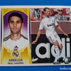 Collectionnisme Cartes à collectionner anciennes: FICHAJE 26 ARBELOA REAL MADRID **LIGA ESTE 09 10** 2009 2010 CROMO NUEVO NUNCA PEGADO. Lote 97462787