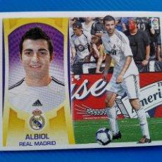 Collectionnisme Cartes à collectionner anciennes: ALBIOL REAL MADRID (VERSION 2) **LIGA ESTE 09 10** 2009 2010 CROMO NUEVO NUNCA PEGADO. Lote 97515615