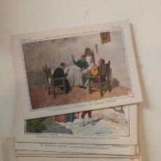 Coleccionismo Cromos antiguos: DON QUIJOTE DE LA MANCHA. CROMOS. SERIE C. COMPÑETA. Lote 97770551