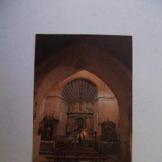 Coleccionismo Cromos antiguos: FOTO CROMO ROBRES DEL CASTILLO PARROQUIAL INTERIOR. LA RIOJA. Nº 66 TDKP12 . Lote 98544583