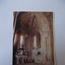 Coleccionismo Cromos antiguos: FOTO CROMO SANTO DOMINGO DE LA CALZADA CATEDRAL. LA RIOJA. Nº 33 TDKP12 . Lote 98544871
