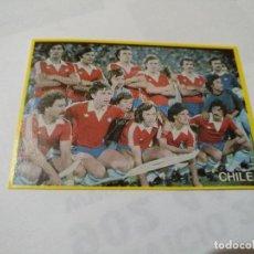 Coleccionismo Cromos antiguos: CROMO FUTBOL EN ACCION DANONE 46 - CHILE. Lote 98813211