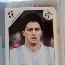 Coleccionismo Cromos antiguos: Nº 216 PEDRO MONZON ARGENTINA (ITALIA 90) **WORLD CUP STORY** PANINI NUEVO NUNCA PEGADO. Lote 99051683