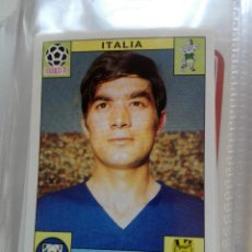 Coleccionismo Cromos antiguos: Nº 55 ANTONIO JULIANO ITALIA (MEXICO 70) **WORLD CUP STORY** PANINI NUEVO NUNCA PEGADO. Lote 116216914