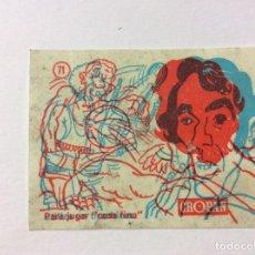 Coleccionismo Cromos antiguos: CROMO MÁGICO CROPAN Nº 71. Lote 99418999