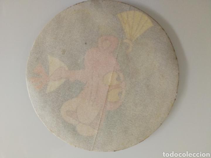 Coleccionismo Cromos antiguos: CROMO PEGATINA REDONDO PANTERA ROSA SIN PEGAR - Foto 3 - 99838630