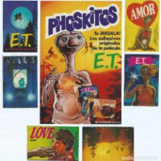 Coleccionismo Cromos antiguos: LOTE DE CROMOS - ET - PHOSKITOS. Lote 100112263
