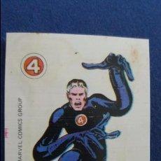Coleccionismo Cromos antiguos: CROPAN CROMO PLASTICO ALBUM SUPER HEROES MARVEL NUMERO 10 MISTER FANTÁSTICO . Lote 100221051