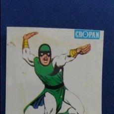Coleccionismo Cromos antiguos: CROPAN CROMO PLASTICO ALBUM SUPER HEROES MARVEL NUMERO 32 KARNAK SERIE CAPA PROTECTORA. Lote 100228771