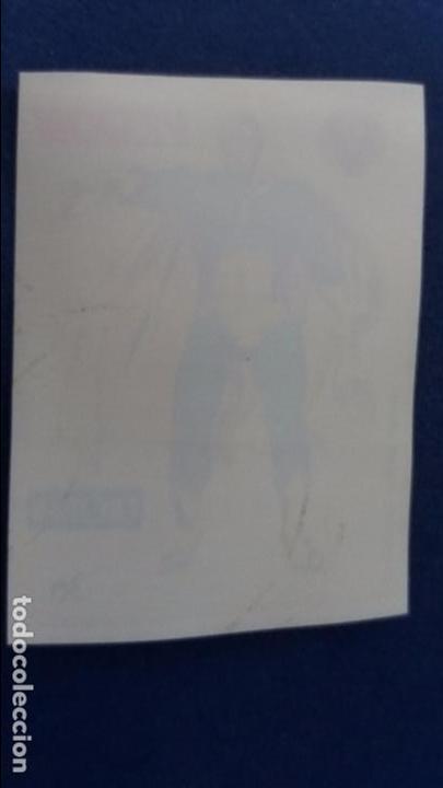 Coleccionismo Cromos antiguos: CROPAN CROMO PLASTICO SUPER HEROES MARVEL NUMERO 36 la vision serie capa protectora bastante nuevo - Foto 2 - 100229743