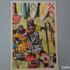 Coleccionismo Cromos antiguos: CROMO DE:BATALLAS HISTÓRICAS,(SIN PEGAR),Nº 104,AÑO 1974,DEL ÁLBUM,BATALLAS HISTÓRICAS,DE DIDEC. Lote 100568571