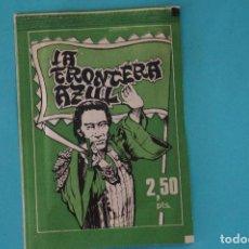 Colecionismo Cromos antigos: SOBRE DE CROMOS SIN ABRIR DE LA FRONTERA AZUL DE FHER. Lote 100715575