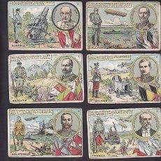 Colecionismo Cromos antigos: CROMOS CHOCOLATE MUNDIAL LA GUERRA EUROPEA 3 EUROS UNIDAD . Lote 100726419