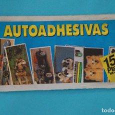 Coleccionismo Cromos antiguos: SOBRE DE CROMOS SIN ABRIR DE AUTOADHESIVAS DE COMICROMO. Lote 100954087