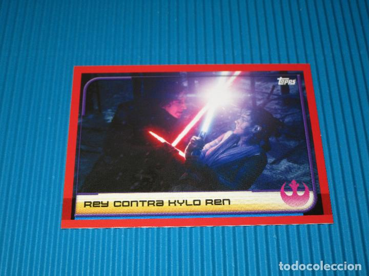 1 display álbum 1 Topps-Star Wars-los últimos Jedi-cromos