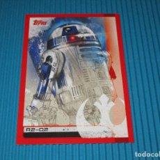 Coleccionismo Cromos antiguos: R2-D2 - 79 - RUMBO A STAR WARS ( LOS ULTIMOS JEDI ) - TOPPS. Lote 101122743