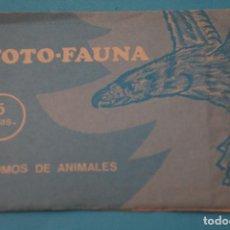 Coleccionismo Cromos antiguos: SOBRE DE CROMOS SIN ABRIR DE:FOTO-FAUNA,DE MANUEL GIMENEZ. Lote 101332603