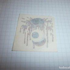 Coleccionismo Cromos antiguos: CROMO MATUTANO TATU HERIDAS TERROR EN LA PIEL Nº2. Lote 101470707