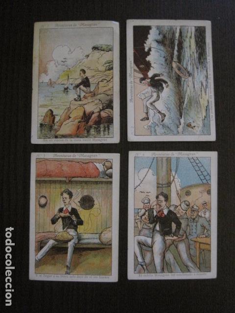 Coleccionismo Cromos antiguos: AVENTURAS DE MASAGRAN - COLECCION 30 CROMOS-COL. COMPLETA -VER FOTOS -(CR-1033) - Foto 3 - 101645215