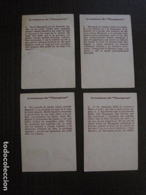 Coleccionismo Cromos antiguos: AVENTURAS DE MASAGRAN - COLECCION 30 CROMOS-COL. COMPLETA -VER FOTOS -(CR-1033) - Foto 4 - 101645215