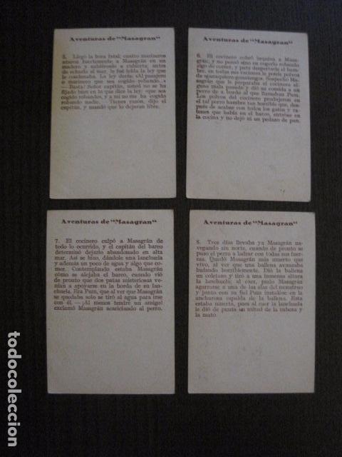 Coleccionismo Cromos antiguos: AVENTURAS DE MASAGRAN - COLECCION 30 CROMOS-COL. COMPLETA -VER FOTOS -(CR-1033) - Foto 6 - 101645215