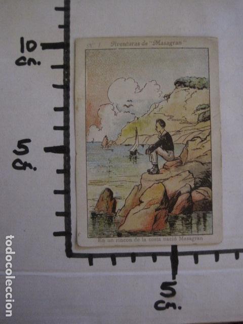 Coleccionismo Cromos antiguos: AVENTURAS DE MASAGRAN - COLECCION 30 CROMOS-COL. COMPLETA -VER FOTOS -(CR-1033) - Foto 19 - 101645215