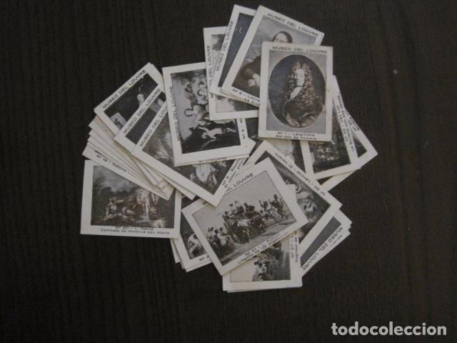 MUSEO DEL LOUVRE - COLECCION 36 CROMOS -VER FOTOS - (CR-1048) (Coleccionismo - Cromos y Álbumes - Cromos Antiguos)