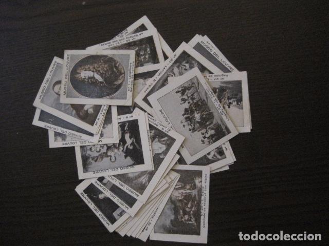 Coleccionismo Cromos antiguos: MUSEO DEL LOUVRE - COLECCION 36 CROMOS -VER FOTOS - (CR-1048) - Foto 2 - 102006975