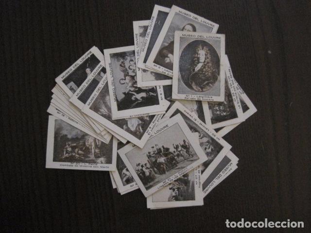 Coleccionismo Cromos antiguos: MUSEO DEL LOUVRE - COLECCION 36 CROMOS -VER FOTOS - (CR-1048) - Foto 3 - 102006975
