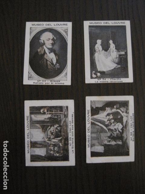 Coleccionismo Cromos antiguos: MUSEO DEL LOUVRE - COLECCION 36 CROMOS -VER FOTOS - (CR-1048) - Foto 8 - 102006975