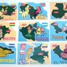 Coleccionismo Cromos antiguos: 20 POSTALES FORJADORES DEL NUEVO MUNDO 1990 TVE QUINTO CENTENARIO 1492 1992 GALLETAS CUETARA. Lote 102806143