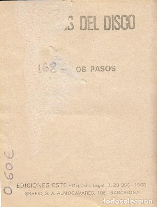 Coleccionismo Cromos antiguos: FAMOSOS DEL DISCO Nº 168 LOS PASOS - Foto 2 - 103333111