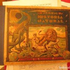 Coleccionismo Cromos antiguos: HISTORIA NATURAL JUNCOSA LOTE DE 200 CROMOS TAMBIEN SUELTOS. Lote 103377371