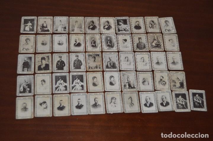 GRAN LOTE DE 51 CROMOS O FOTOTIPIAS DE CAJAS DE CERILLAS - DE LA SERIE 9 - MUY ANTIGUOS - HAZ OFERTA (Coleccionismo - Cromos y Álbumes - Cromos Antiguos)
